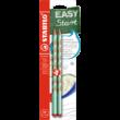 Grafitceruza STABILO Easygraph Pastel HB háromszögletű 2 db-os zöld-zöld