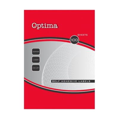 Etikett OPTIMA 32077 38x21,2mm 6500 címke/doboz 100 ív/doboz