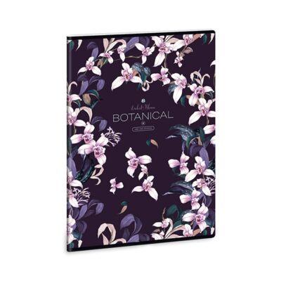 Füzet ARS UNA A/4 40 lapos vonalas Botanic Orchid