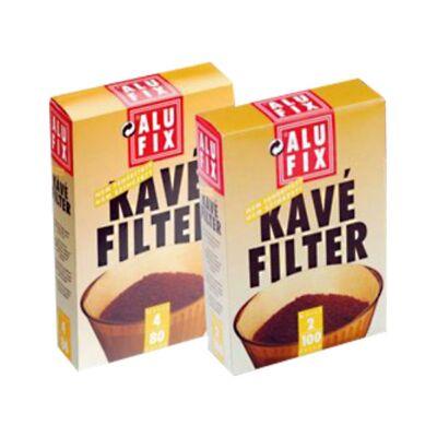 Kávéfilter ALUFIX 4-es 100db/doboz