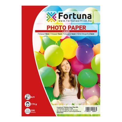 Fotópapír FORTUNA A/4 laser fényes 170 gr 200 ív/csomag