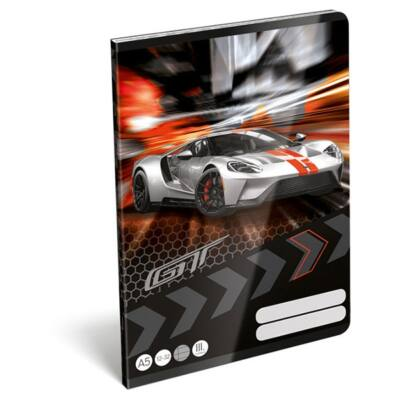 Füzet LIZZY CARD A/5 32 lapos vonalas 12-32 III. osztályos Ford GT
