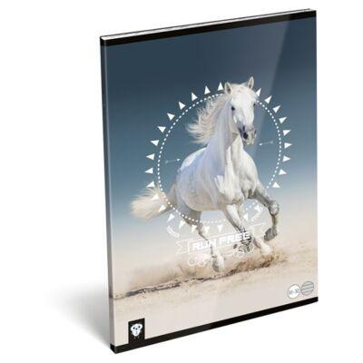 Füzet LIZZY CARD A/4 32 lapos vonalas 81-32 Horse