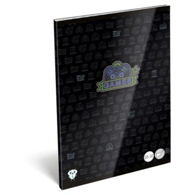Füzet LIZZY CARD A/5 32 lapos sima 20-32 Games