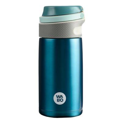 Termosz WABO 350 ml acél fedeles kék