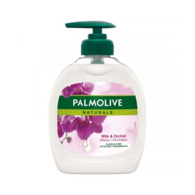 Folyékony szappan pumpás PALMOLIVE Naturals tej és orhidea 300 ml