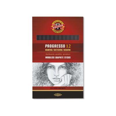 Grafitceruza KOH-I-NOOR 8911 Progresso 6B hengeres
